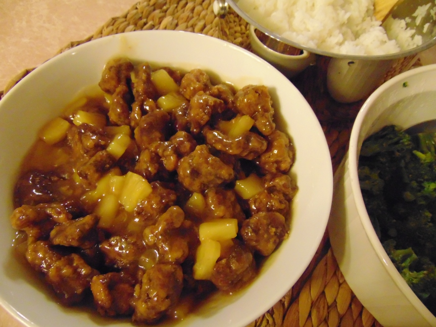 Sweet Sour Pork 02